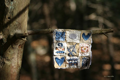 November Hearts on a Branch copy (Woods Whisperer) Tags: trees tree bird art fall thread leaves pine forest studio photography berry woods vermont quilt heart stitch nest embroidery sewing textile evergreen pineneedles bark embellishment stitching crow ferns fiberart patchwork fiber crows quartz gratitude stitched embroidered embellished handstitched ravens tapestry pinecones embellish textileart artquilt putneyvermont fiberartist tafa artcloth valdani valdanithread westminstervermont
