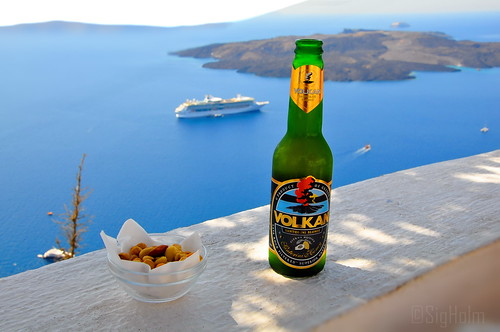 Me and My Santorini View.