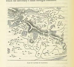 Image taken from page 302 of '[The Fifteen Decisive Battles of the World; from Marathon to Waterloo.]' (The British Library) Tags: map medium hastings publicdomain page302 vol0 bldigital mechanicalcurator pubplacelondon date1853 creasyedwardshepherdsir sysnum000815779 imagesfrombook000815779 imagesfromvolume0008157790 wp:bookspage=history togeoref georefphase2
