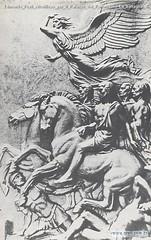 Edmondo Prati Altorilievo per il Palazzo del Parlamento La battaglia di Las Pedras Montevideo Uruguay