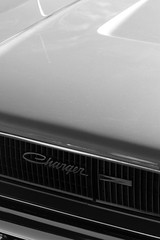 Charger | 1968 (grafficartistg4) Tags: white black classic monochrome muscle monochromatic icon american dodge americana 1968 chrysler mopar iconic v8 charger musclecar americanmuscle