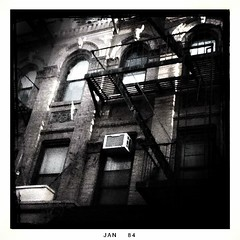 fire escapes (Manhattan Girl) Tags: nyc manhattan bwphotography fireescapes iphoneography shellykayphotography