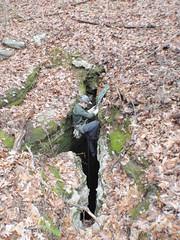 Wynne Pit AL1009 (wrcochran) Tags: alabama rope caves caving karst cavern rappel rappelling speleo spelunking cccp srt nss