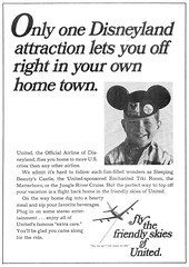 Disneyland Vacationland Fall 1967 08 - United Airlines ad (Tom Simpson) Tags: vintage advertising 60s disneyland united disney advertisement 1967 1960s airlines vacationland unitedairlines vintageadvertising vintagead vintagedisney vacationlandmagazine
