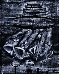 Farmed and Dangerous. Surrealism (Nellie Vin) Tags: fish abstract art print poster photography dangerous fishing contemporaryart surrealism fineart salmon photograph limitededition farmedanddangerous nellievin farmeddangerous salmonantifarming