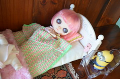 SOPHIE SLEEPS AS MINNION TELLS TALES