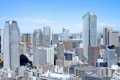 Tokyo Buildings (ELCAN KE-7A) Tags: world building japan tokyo pentax center 日本 東京 trade ビル 2014 世界 ペンタックス 貿易 センター k5ⅱs