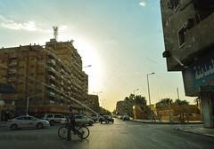 Downtown Riyadh through a dusty windshield (Francisco Anzola) Tags: downtown riyadh saudiarabia ksa