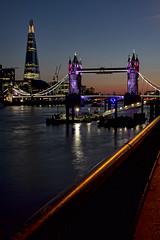 Tower Bridge (NoVice87) Tags: london night towerbridge lowlight riverthames