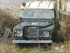 Abandoned Land Rover ( Andrew) Tags: old classic car 4x4 voiture coche