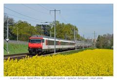 IC2000 Dosto - Saint-Prex (CC72080) Tags: train sbb cff saintprex dosto ic2000 intercité