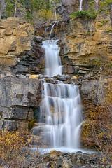 Tangle Falls (Philip Kuntz) Tags: canada waterfall explore alberta icefieldsparkway tanglefalls