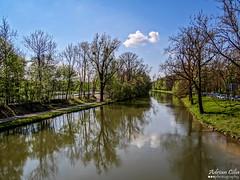 River Isar --- Munich --- Germany (Drinu C) Tags: trees nature water river germany munich landscape landscapes sony dsc hx100v adrianciliaphotography
