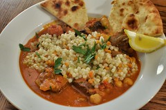 Mmm... Moroccan lamb stew with pearl couscous (jeffreyw) Tags: soup stew lamb couscous moroccan