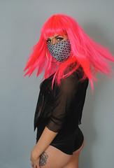 edit8 (hollyfarrier) Tags: pink urban hot fashion hair photography gangster mask mesh fashionphotography grunge makeup free overlay vietnam identity wig kawaii stripper pinkhair fashionshoot fit sporty coverup pinkwig smokeyeye identitytheif sportystyle