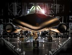 Pretty Little Blackbird (Tate Linden) Tags: museum space air national and blackbird sr71 udvarhazy