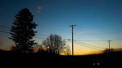 Sunset (Bluevee Design) Tags: street sunset sonydscw90