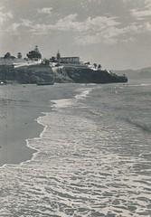 Santa Clara desde la playa de La Carihuela. Torremolinos (Málaga)