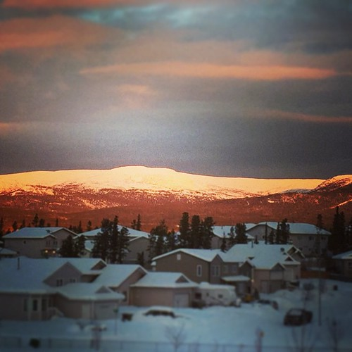Good morning #yxy #Yukon #winter