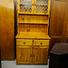 Tall pine kitchen dresser
