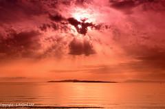 Filter Magic II : Corfu Sunset (Holfo) Tags: orange red filter corfu sunset aghiosstephanos sanstefanos colour tranquil nikon d5100 sky cloud outdoor ionianislands greece