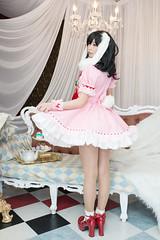 P55_037 (ms09Dom) Tags: cosplay コスプレ 東方project 因幡てゐ 五木あきら itsukiakira