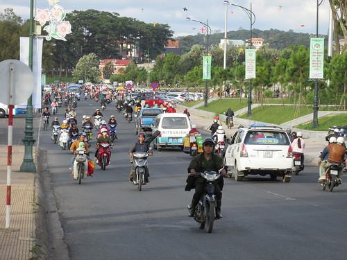 Motos de Dalat, Vietnam