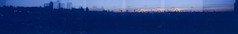 Hollywood - Pano (zoobumz) Tags: sky panorama building film rooftop 35mm holga high pano hollywood
