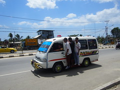 The Toyota Hiach is used as a taxi all over the world, while not beeing the safest they are still running!