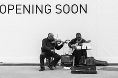 Opening soon (Manu82ela) Tags: people blackandwhite florence streetphotography persone firenze biancoenero blackwhitephotos