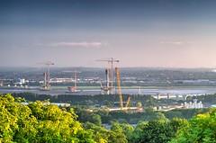 Mersey Gateway - Different view (Jeffpmcdonald) Tags: bridge cheshire runcorn widnes rivermersey haltoncastle merseygateway nikond7000 jeffpmcdonald may2016