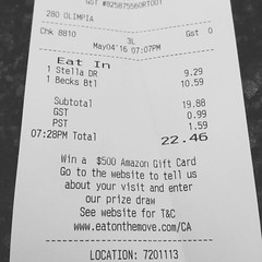 $10.59 CAD for a bottle of Becks! At the airport waiting to go to #cmw2016 with @cuemc #Toronto #realdj #vinyl #ripoff (iamstopandiwillfreshyou) Tags: moon square squareformat iphoneography instagramapp uploaded:by=instagram