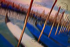 Venitian Blues2 (AjayGoel2011) Tags: world blue venice italy color art texture sunrise nikon explore creativecommons gondola nikkor decisivemoment ajaygoel artdigital flickriver