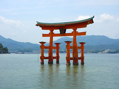 Vacation in Japan 2016 (kaeko) Tags: ocean trip sea vacation holiday japan shrine hiroshima miyajima isukushimashrine