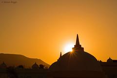 Sunset, Corralejo. (I'mDKB) Tags: sunset orange silhouette sunrise 50mm march nikon fuerteventura dome 50mmf18d canaryislands mystique starburst islascanarias 2014 corralejo canaryisles lascanarias nikond600 lr5 elsultan imdkb lightroom5