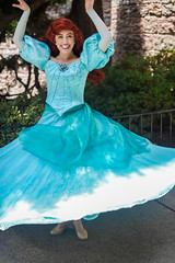 Ariel (EverythingDisney) Tags: ariel dress princess disneyland disney twirl dlr thelittlemermaid princessariel