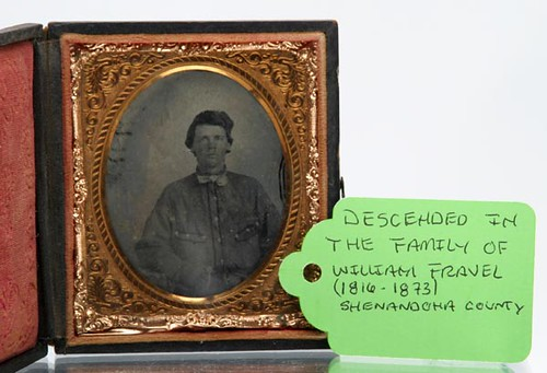 Ambrotype Sixth-Plate of Seated Man, Possible Confederate Soldier
