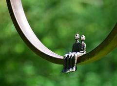 Taking in the sun (uplandswolf) Tags: sculpturegarden burghley