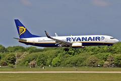 "EI-DHR Boeing 737-8AS Ryanair MAN 03-06-16 (PlanecrazyUK) Tags: man manchester ryanair 030616 ringway egcc airport"" boeing7378as ""manchester eidhr"