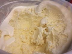 Melted Tub of Vanilla Ice Cream (stevendepolo) Tags: ice cream tub vanilla melted
