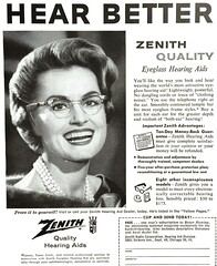 Vintage Ad - 1950s Zenith (Christian Montone) Tags: ads advertising vintage vintageads vintagegraphics