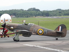LF363 Hurricane (Aircaft @ Gloucestershire Airport By James) Tags: james airport hurricane gloucestershire lloyds lf363 egbj
