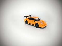 NOT-42056 Porsche 911 GT3 RS    I'm really sure a picked-up the right box, but why the actual car is smaller than i thought? Not what i expected... It's suppose to be a technic set, right? (geraldcacas) Tags: lego porsche porsche911 geraldcacascreations