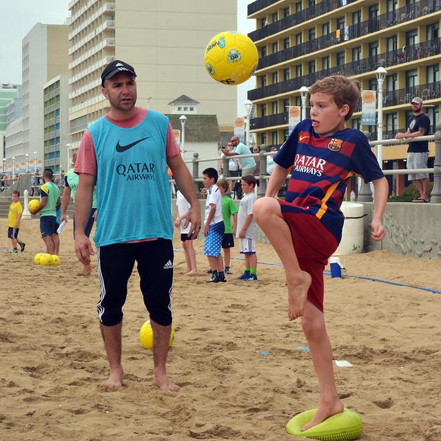 Ramiro Amarelle's FC Barcelona Beach Soccer Camp