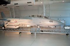 Grumman F-14D Tomcat (stevesheriw) Tags: smithsonian nationalairandspacemuseum udvarhazy chantilly virginia airplane grumman f14d tomcat