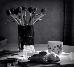 _good morning... (SpitMcGee) Tags: breakfast newspaper sunday croissant jam sonntag frhstck marmelade acupofcoffee sonntagszeitung spitmcgee einetassekaffee
