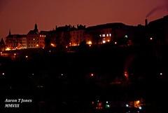 Night City. (Aaron T Jones) Tags: city light urban skyline architecture night nikon luxembourg d60
