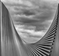 stairway to heaven (Ralf Pelkmann) Tags: music clouds contrast heaven geometry zeppelin stairway led