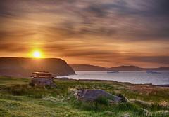 Cape Spear, Newfoundland (Mile 24 Travel Media) Tags: travel sunset tourism nature newfoundland landscape eco atlanticocean signalhill icebergs capespear