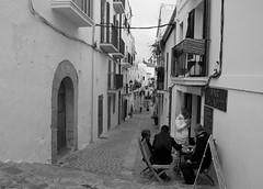 Ibiza Town Street (Tim Cunningham's Images) Tags: spain ibiza balearics